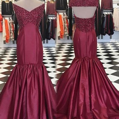 Prom Gown,Prom Dresses,Evening Gown..