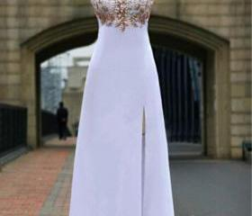Gorgeous White prom ..