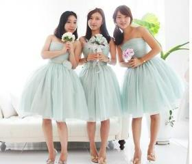 tulle bridesmaid dre..