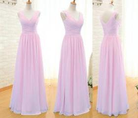 pink bridesmaid dres..