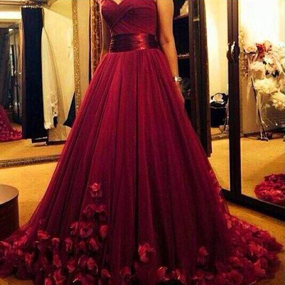 52dff13cf09a Burgundy Prom Dresses,Wine Red Prom Dresses,Formal Gown,Ball Gown Evening  Gowns