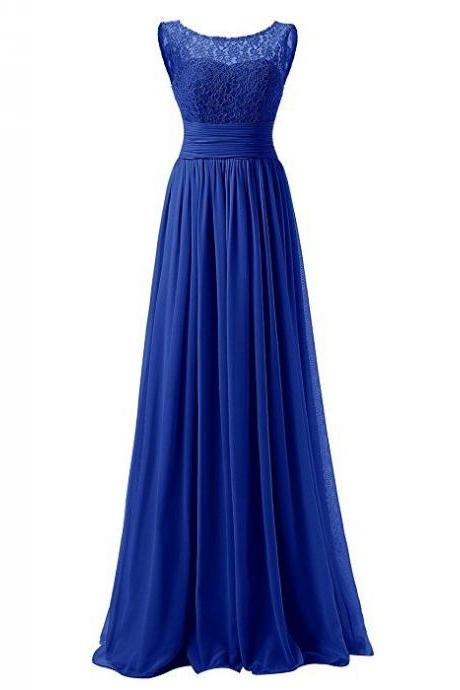 Royal Blue Prom Dresses,Royal Blue Prom Dress,Beaded Formal Gown,Beadings Prom Dresses,Evening Gowns,PD3082